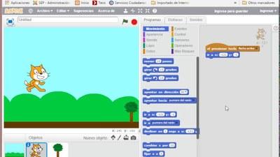 Xnergic: Programació de jocs amb Scratch