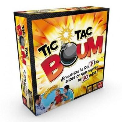 Tarda de jocs Tic - Tac Boum