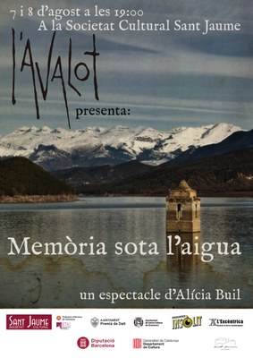 """Teatre """"Memòria sota l'aigua"""", d'Alícia Buil"""