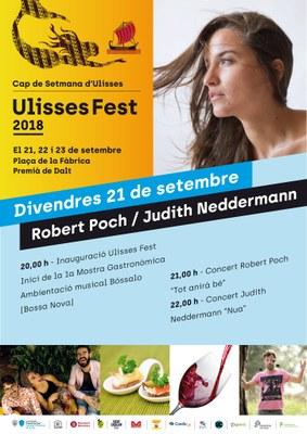 Ulisses Fest 2018: inauguració