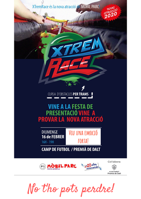 Vine a conèixer i provar la nova atracció 'Xtrem Race'