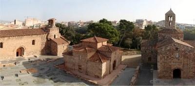 Visita al conjunt d'esglésies romàniques de Sant Pere de Terrassa