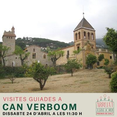 """Visita guiada per a famílies a can Verboom: """"Borbon o Verboom"""""""