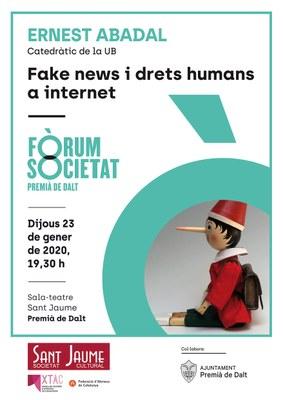 Xerrada 'Fake news i drets humans a internet'