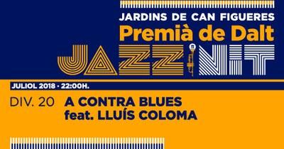XXIII Jazz en la Nit: Lluís Coloma i els A Contra Blues