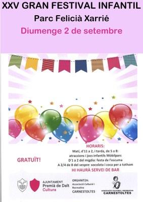 XXV Gran Festival Infantil