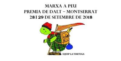 XXVIII Marxa a Peu Premià de Dalt - Montserrat