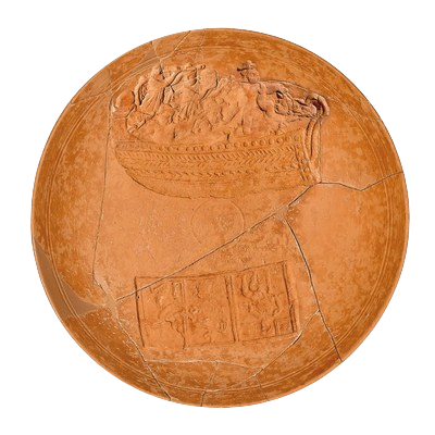 Premià de Dalt té una peça arqueològica única al món? El Plat d'Ulisses