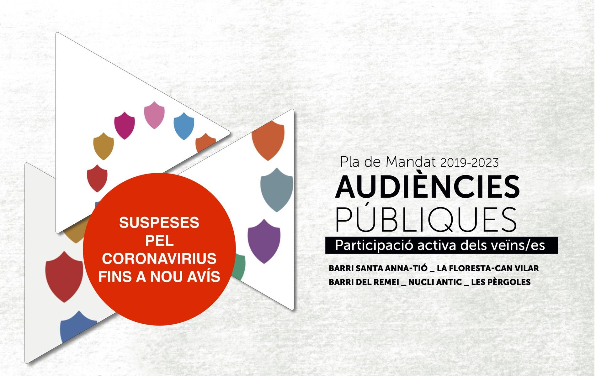 Anul·lació de les Audiències Públiques
