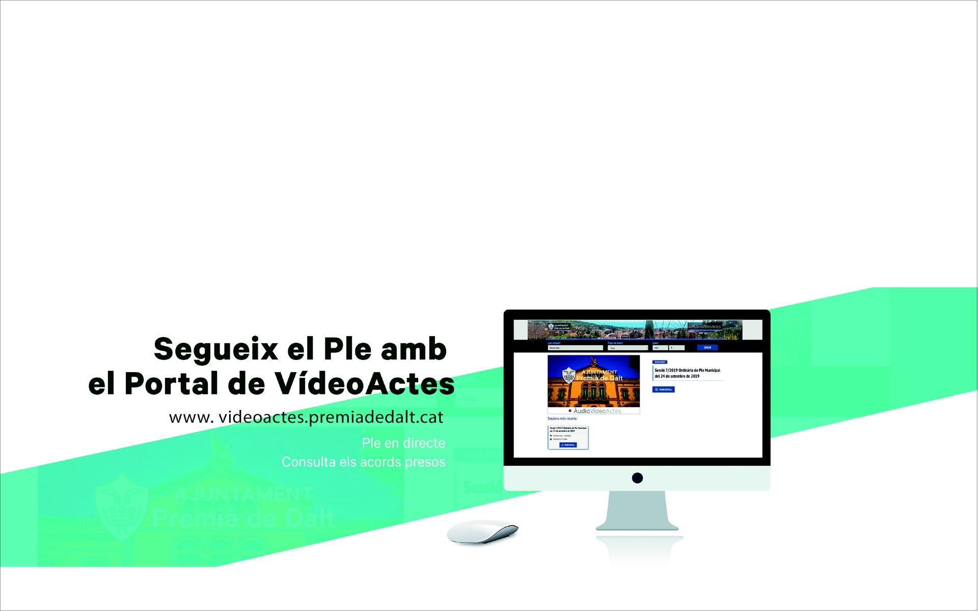 Vídeoactes del Ple Municipal