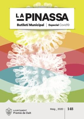 Acabem de publicar una edició especial de la revista municipal La Pinassa per l'alerta sanitària de la 🦠COVID-19