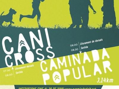 Apunteu-vos al 1r Canicross i Caminada Popular de Premià de Dalt dins de la Festa Major 2017
