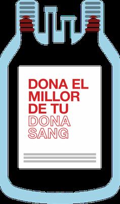 Aquest estiu calen 35.000 donants de sang: omple la bossa!