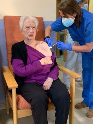 Completada la vacunació contra la Covid-19 a la Llar Carme de Premià de Dalt