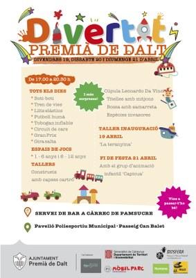 Del 19 al 21 d'abril, torna el festival Divertit a Premià de Dalt