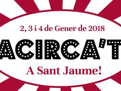 Del 2 al 4 de gener, el circ de Nadal és a la Societat Cultural Sant Jaume
