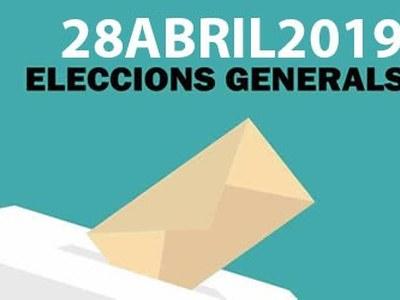 Ple Extraordinari l'1 d'abril per designar les persones membres de les meses electorals per a les eleccions generals