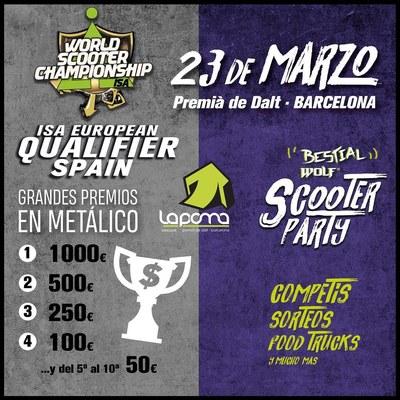 Dissabte 23 de març l'esport Scooter aterra a La Poma en una competició internacional de primer nivell