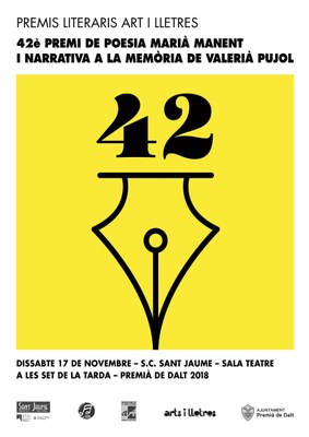 Dissabte es lliura el 42è Premi de Poesia Marià Manent a Premià de Dalt