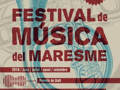 El 2 de juny aixequem el teló del 41è Festival de Música del Maresme