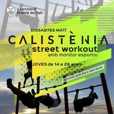 El 7 de març arrenca el nou parc de calistènia i street workout a Premià de Dalt