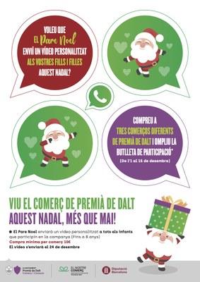 El Comerç de Premià de Dalt, aquest Nadal et porta el Pare Noel!