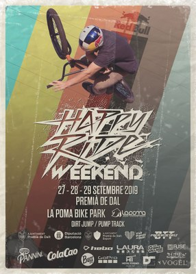 El Happy Ride Weekend torna a reunir els millors bikers a La Poma Bikepark del 27 al 29 de setembre