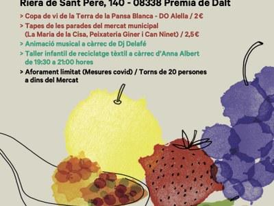 El mercat municipal acull una nova edició de Mercats amb DO Alella el dissabte 3 de juliol