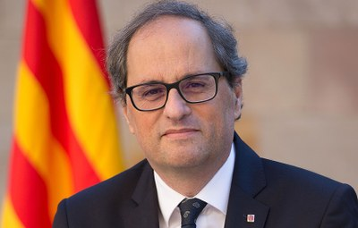 El president de la Generalitat visita Premià de Dalt dimecres 17 d'abril