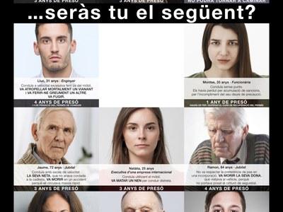 El Servei Català de Trànsit inicia una nova campanya davant l'augment d'accidents mortals dels últims dies