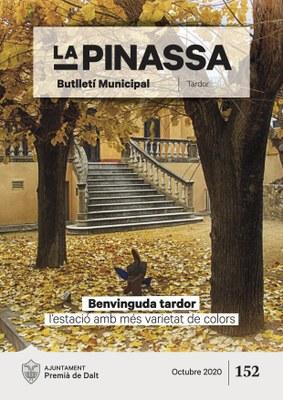 Els colors de la tardor il·lustren el número d'octubre de 'La Pinassa'