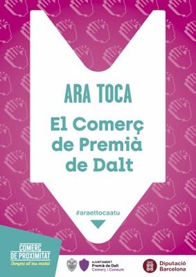 Ens afegim a la campanya 'Ara et toca a tu: Gràcies!' de la Diputació de Barcelona