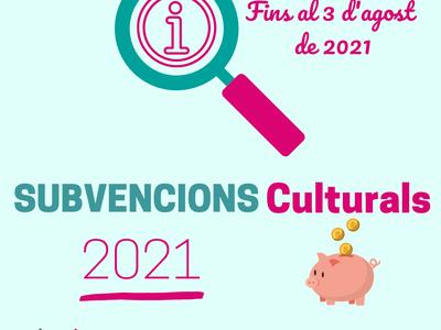 Es convoquen les subvencions municipals en l'àmbit cultural