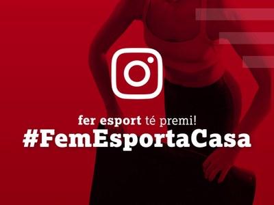 Fem esport a casa!, nova campanya de la Fundació Catalana per a l'Esport