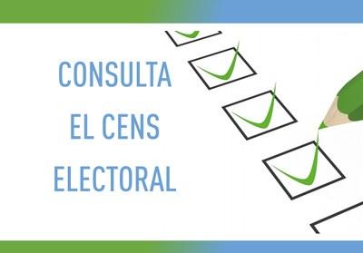 Ja es pot consultar el cens electoral per a les Eleccions Generals del 10 de novembre