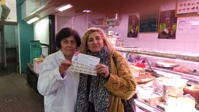 Ja tenim guanyadora de la campanya 'Per Nadal el comerç de Premià de dalt et porta un somni fet regal'