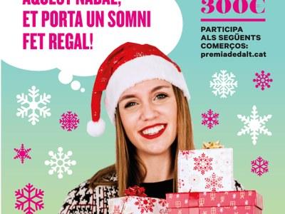 Ja tenim guanyadora del sorteig comercial de Nadal!