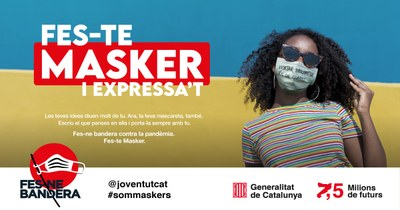 Joventut impulsa la campanya #sommaskers