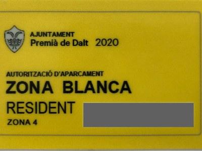 L'1 de juliol La Floresta i can Vilar es converteixen en zones blanques d'aparcament