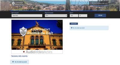 L'Ajuntament posa en marxa un portal de vídeo actes