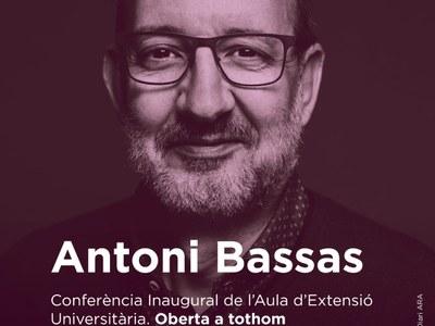 L'Antoni Bassas inaugurarà l'Aula d'extensió universitària de Premià de Dalt
