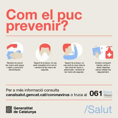 L'Ajuntament constitueix una comissió permanent sobre el coronavirus SARS-CoV-2