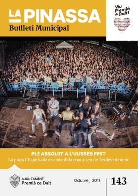 L'èxit d'UlissesFest, portada de La Pinassa número 143
