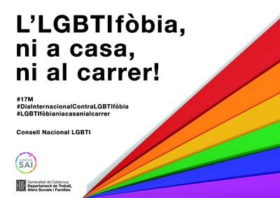 L'LGBTIfòbia, ni a casa ni al carrer!