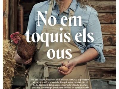 No em toquis els ous!