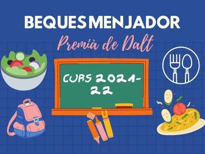 Obert el termini de presentació de sol·licituds per a beques menjador del curs escolar 2021-22