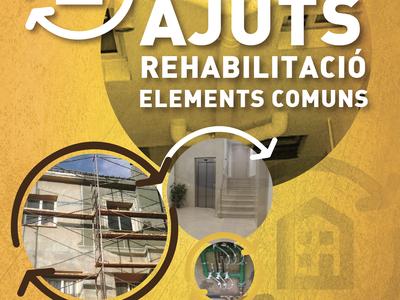 Més ajuts a la rehabilitació d'edificis del barri Sta. Anna - Tió