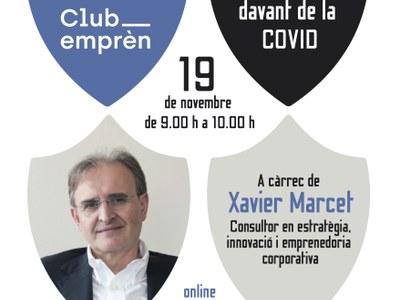 Organitzem una conferència - debat virtual sobre com fer front a la crisi post Covid-19