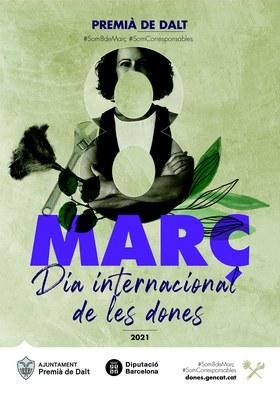 Premià de Dalt commemora el 8 de març, Dia Internacional de les Dones