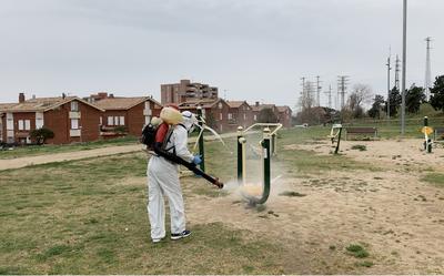 Premià de Dalt duu a terme diferents mesures de desinfecció en tot el municipi davant el COVID-19